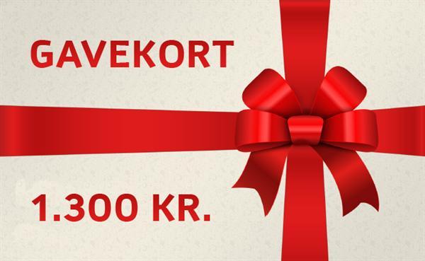 Gavekort - 1300kr.