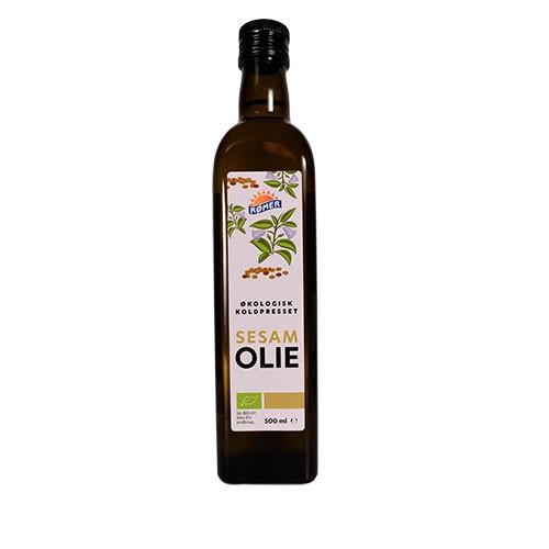 Sesamolie Økologisk- 500 ml