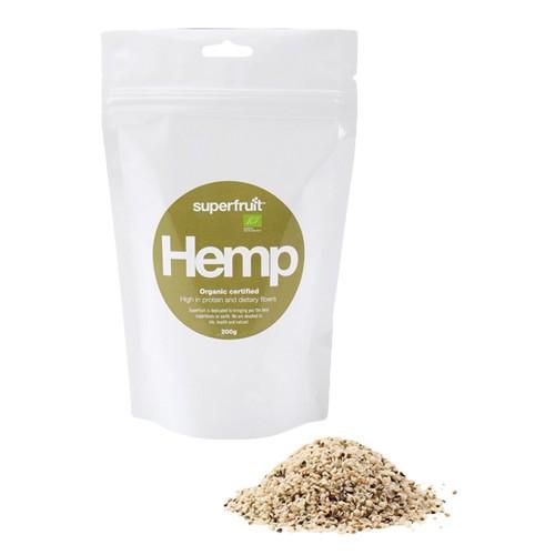 Hampe frø afskallede (hemp seed) Økologisk - 200 gr - Superfruit