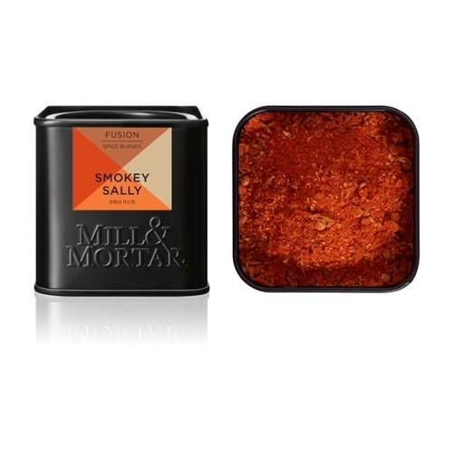 Smokey Sally krydderiblanding Økologisk - 50 gr - Mill & Mortar