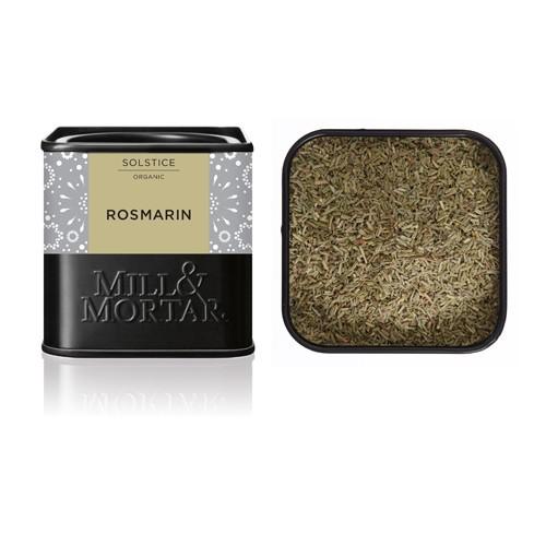 Rosmarin skåret Økologisk - 30 gr - Mill & Mortar