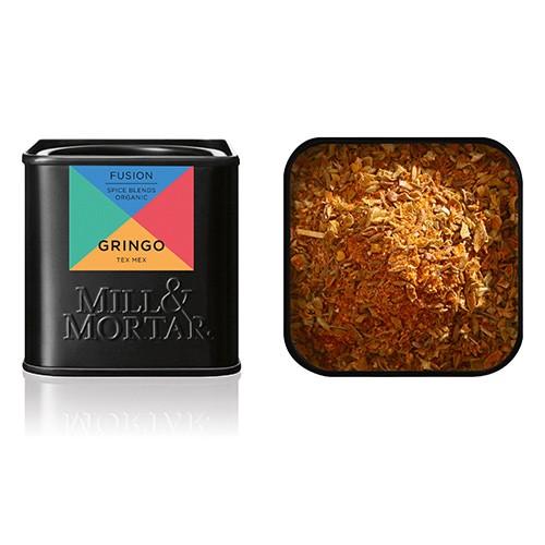 Gringo krydderriblanding Økologisk - 55 gram - Mill & Mortar